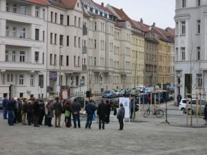 Übergabe des Huygensplatzes an die Öffentlichkeit