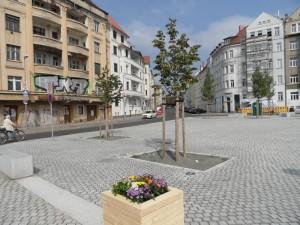 Huygensplatz im September 2014