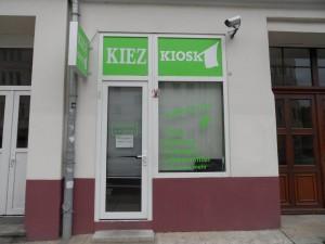 So findet man neu ein Kiez-Kiosk ...