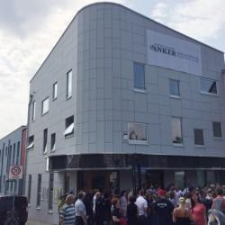 Das neue Anker-Vereinsgebäude