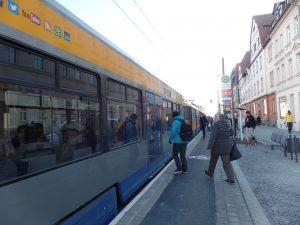 Verkehrsfreigabe Huygensstraße - S-Bahn-Brücke