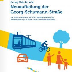 Dokumentation Sofortmaßnahme Neuaufteilung Georg-Schuman-Strasse