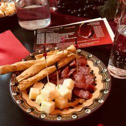 Kulinarische Verpflegung beim Frauennetzwerktreffen.