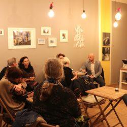 Information & Austausch beim 21. GuUT im Café Jeepney ©Magistralenmanagement Georg-Schumann-Straße / Jessica Sauter
