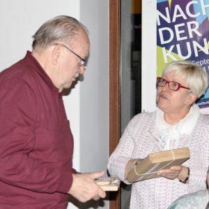 Karl-Heinz Kohlwagen, engagiert für die Vermittlung der historischen Entwicklung von Möckern und Wahren.
